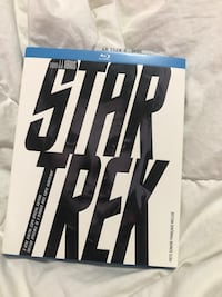 Blue ray Star Trek.
