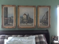 3 original scene paintings Palm Bay