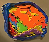 CHILDREN's STYROFOAM PUZZLE PIECE LETTERS! HUGE BAG!!! $25 Fairlawn, 44333