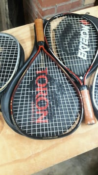black and red tennis rackets Weber City, 24290