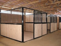 10' Basic Horse Stall Fronts - $885 Cleveland