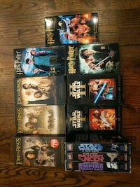 Star wars Harry Potter and Lord of the rings