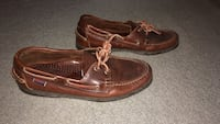 pair of brown leather boat shoes Fairfax, 22030