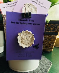 Seed Bomb Favours