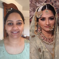 Wedding makeup Mississauga