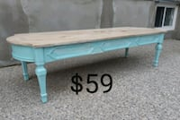 Distressed Painted Coffee Table *Delivery Availabl 513 km