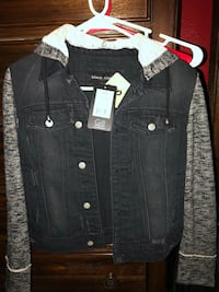 black and white button-up jacket Moreno Valley, 92555