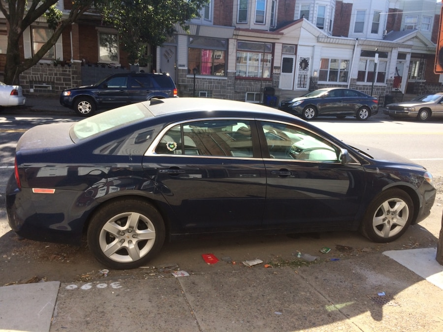 used 2012 chevy malibu ls low mileage in philadelphia. Black Bedroom Furniture Sets. Home Design Ideas