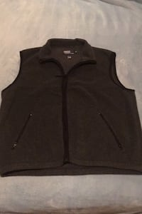 Polo Vest Men's Fleece XL