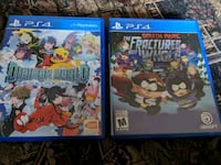two Sony PS4 game cases Québec, G1X 3B4
