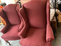 Two wingback chairs need reupholstered  Ranson, 25438
