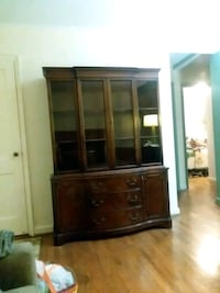 brown wooden cabinet with shelf Kensington, 20895