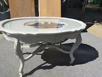 Gray and dark gray eagle wooden table on wheels vi Norco, 92860