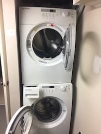 Front load washer and dryer set  545 km