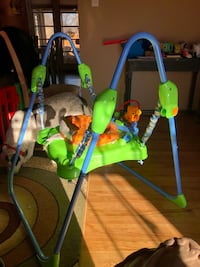 baby's green and blue jumperoo Denver, 80236
