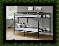 Twin bunk bed frame with 2 mattress Landover Hills, 20784