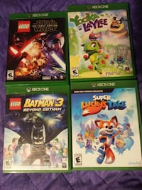$16.00 EACH. Xbox One games Madera