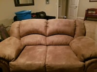 brown suede 2-seat sofa 3667 km