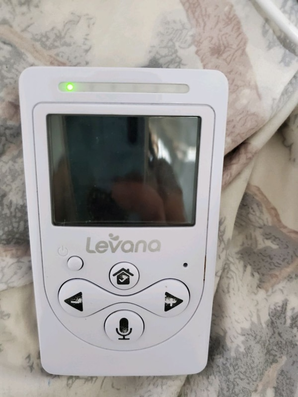 Levana baby monitor with night vision and talk.  1e9bd103-b2d0-43a6-a3b1-e937aa8c21d1