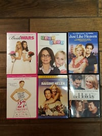 6 DVDs - $ 2 each  Valdosta, 31602