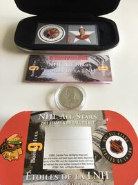 2001 NHL Canada Post All-Star Stamp and Medallion  Calgary, T2R 1K5