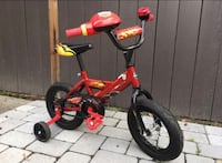 Lightning McQueen Training Bicycle  Los Angeles, 90048