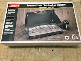 Brand new in the box Coleman propane stove