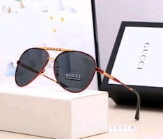 GUCCI Brand Luxury Sunglasses Style for Men UV400 with Box