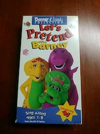 Barney's Let's pretend with Barney vhs Baltimore
