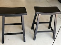 Two black stools...perfect for kitchen island...$15 each Washington, 20002