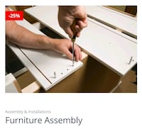 Furniture assembly Morrisville