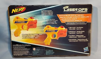 Nerf Laser Ops. Damaged Box. Perfect Working Condition