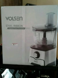 VOLSON 7 SPEED FOOD processor with blender new in