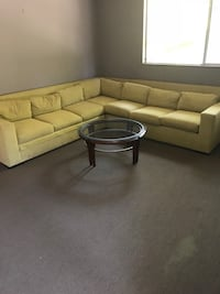 Modern lime sectional w/pullout bed Fresno, 93720