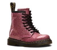 Dr. Martens kids pink glitter boots - 10T Chicago, 60606