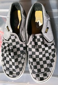 Men's Slip On Checkerboard Vans Size 8 Weatherford, 73096