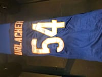 Chicago Bears Brian Urlacher signed jersey Surrey, V3T 2R5