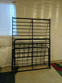 Black Metal Bed Frame - Full/Double Sized Fort Collins, 80524