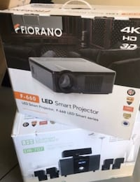 Home projector and surround system valued at over $5000 CAD need gone Toronto, M3N 2W2
