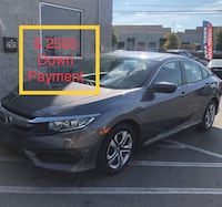 2018 Honda Civic only $ 2500 Down Payment  Nashville