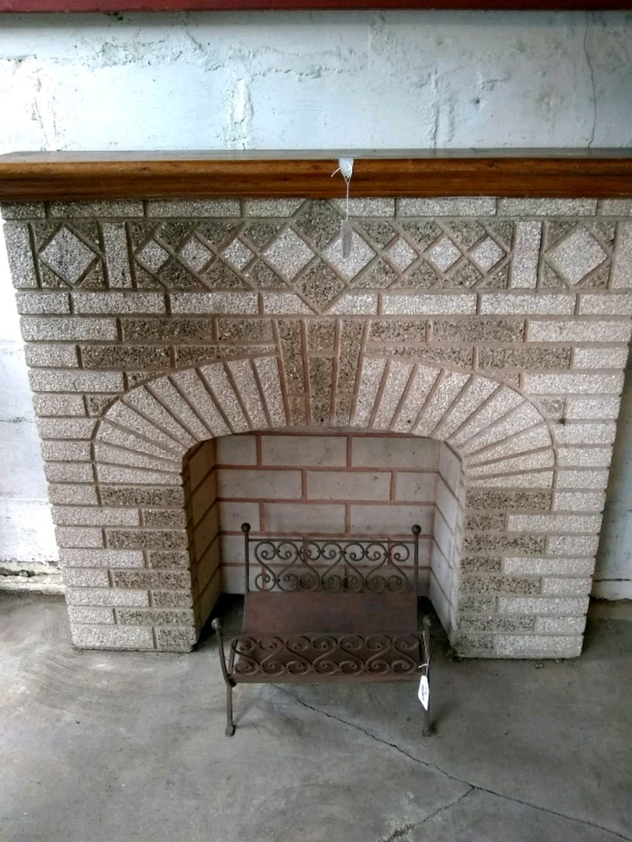 used faux fireplace for sale in queens letgo rh gb letgo com
