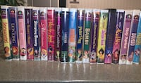 Collectible Kids Children Adults Disney and Other VHS Movie Tapes