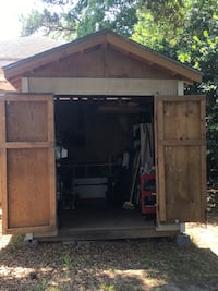 8' x 12' wooden shed Norfolk, 23502