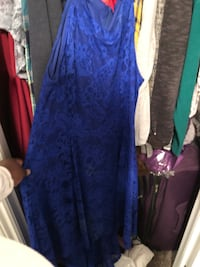Blue high-low lace dress Ingersoll, N5C 0B7