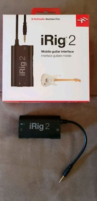 iRig2 Guitar Interface Trinity, 34655