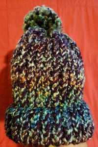 Pompom knitted hat Bourg, 70343