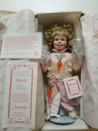 "Porcelain Doll ""MANDY"" For Sale Stafford, 22554"