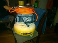 Black and yellow Bostitch air compressor and Brad  Waynesboro, 30830