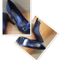 Etienne Aigner Shoes, gray/black, size 6 1/2, worn only a few hours, like new San Diego, 92107