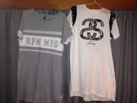 white and black crew-neck shirts One Tree Point, 0118